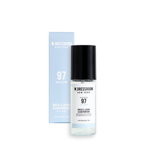 [W.Dressroom] Dress & Living Clear Perfume #97 April Cotton 70ml