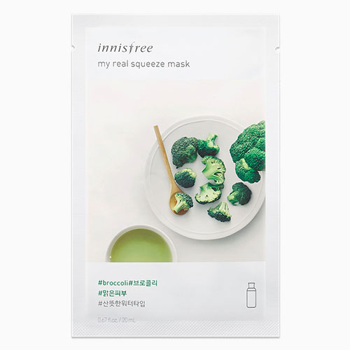 [Innisfree] My Real Squeeze Mask 10ea