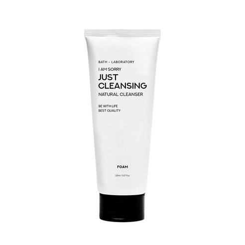 [B-LAB] I Am Sorry Just Cleansing Cleansing Foam 150ml (Weight : 250g)-MYKOCO WS