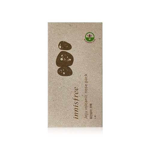 [Innisfree] Jeju Volcanic Nose Pack 6P