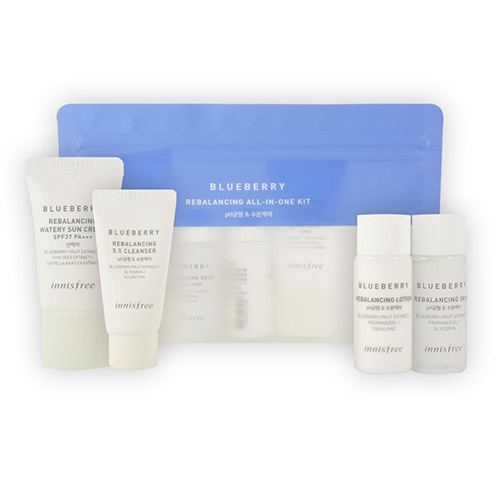 [Innisfree] Blueberry Rebalancing All In One Kit (Sample) 1ea (Weight : 108g)-MYKOCO WS