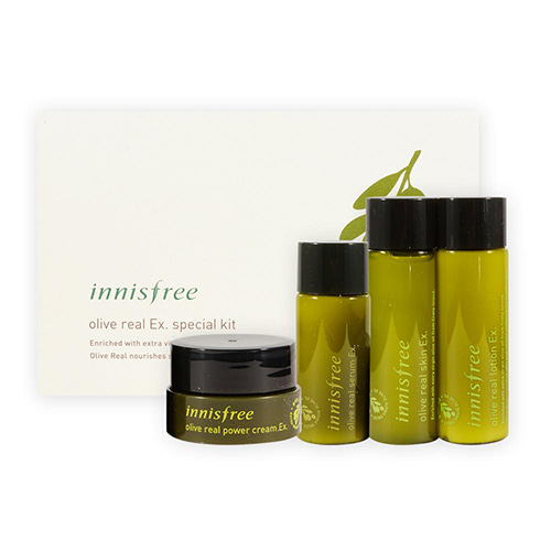 [Innisfree] Olive Real EX Special Kit (Sample) 1ea (Weight : 173g)-MYKOCO WS