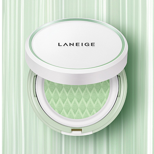 [E][Laneige] Skin Veil Base Cushion SPF22 PA++ #60 Light Green 15g*2 (Weight : 60g)-MYKOCO WS