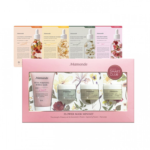 [Mamonde] Flower Mask Mini Kit (Sample) 1ea (Weight : 353g)-MYKOCO WS