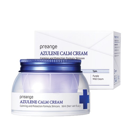 [Preange] Azulene Calm Cream 50ml (Weight : 130g)-MYKOCO WS