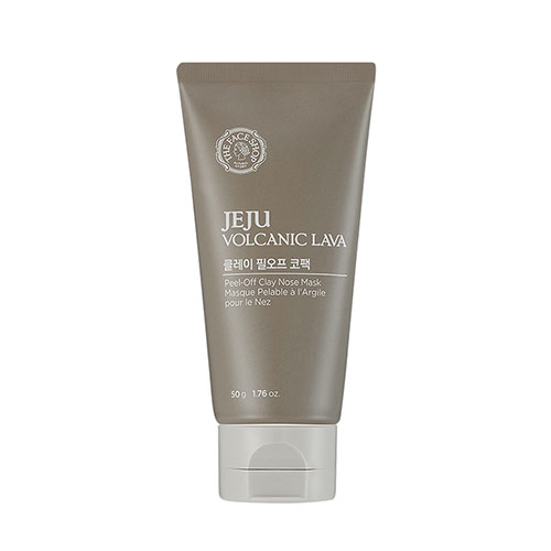 [The Face Shop] Jeju Volcanic Lava Peel Off Clay Nose Mask 50g