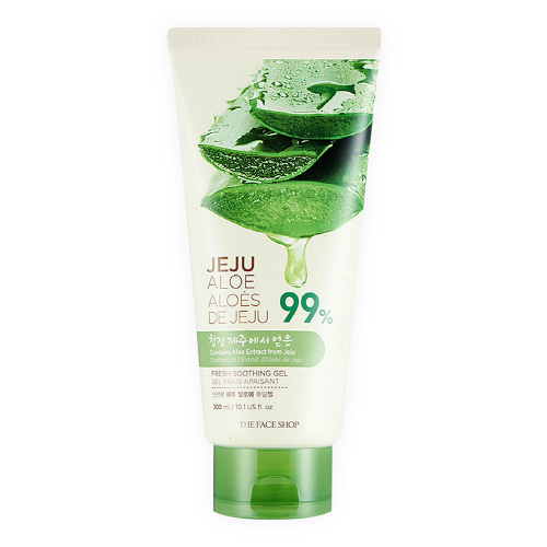 [The Face Shop] Jeju Aloe Fresh Soothing Gel (Tube) 300ml