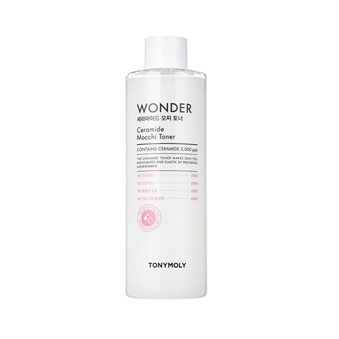 [Tonymoly] Wonder Ceramide Mocchi Toner 500ml (Weight : 700g)-MYKOCO WS
