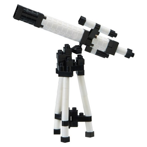 [nano block] Astronomical Telescope 70pcs (Weight : 220g)-MYKOCO WS