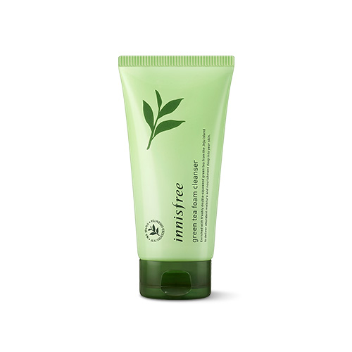 [E][Innisfree] Green Tea Foam Cleanser 150ml (Weight : 220g)-MYKOCO WS